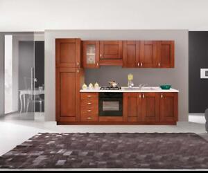 Pensili Cucina Componibile H96 Classici Noce Arte Povera Ebay