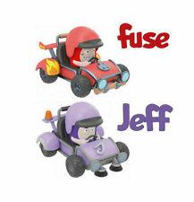 "Oddbods Set de 2 figurines voiture Slick /& Pogo /""Mini Racers/"" Tirez /& PRESSE To Go!"