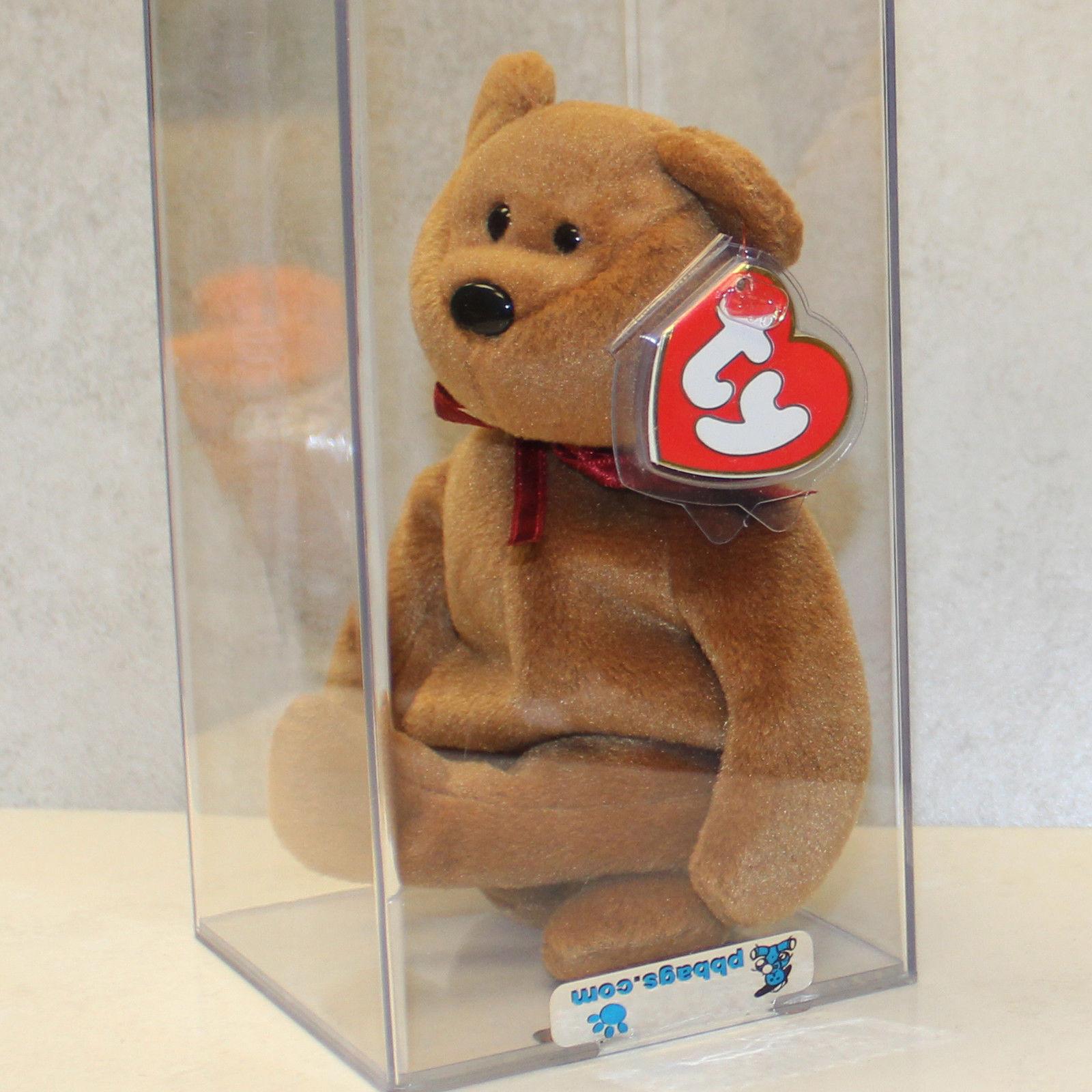 Beim teddy nf braun (bär) mwmt mq 3   2. gen ty beanie baby (sp)