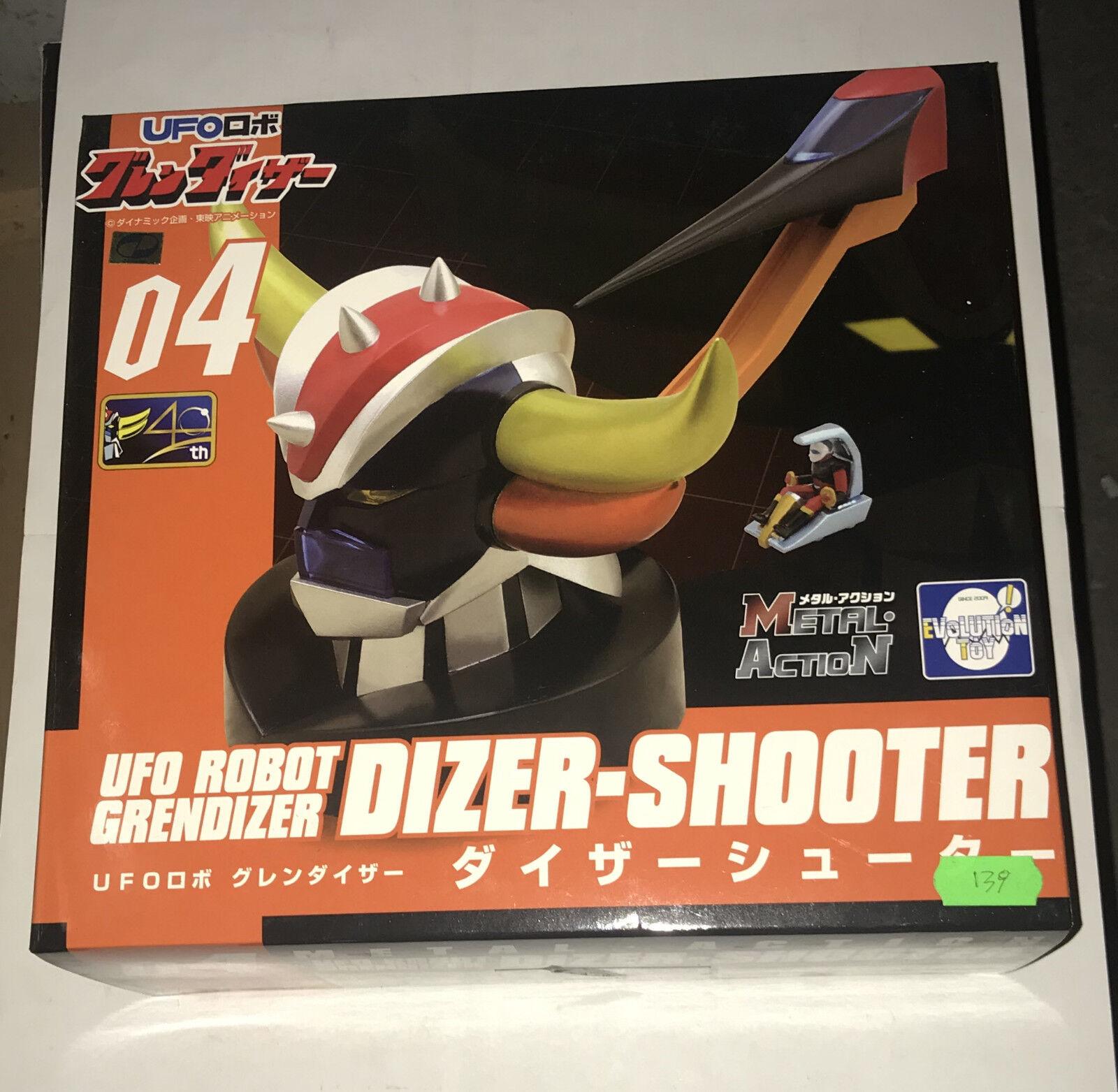 UFO ROBOT GRENDIZER DIZER-SHOOTER  Metal Action 04  Evolution Toys