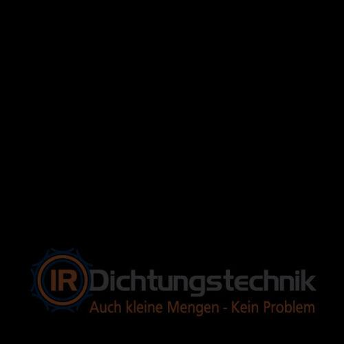 1 St.//pc. Gummiplatte Dichtung Gasket Material FKM 75 Shore A schwarz//black