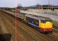 Diesel Class 31 31413 Severn Valley Railway Burton on Trent unused 1988 postcard