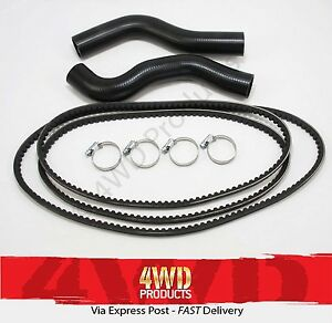 Radiator-Hose-amp-Belt-SET-for-Toyota-Prado-KZJ120R-3-0TDi-1KZ-TE-03-06