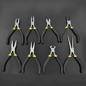 1pc-Mini-7-039-039-Bent-Nose-Grip-Pliers-Jewellery-Bead-Hobby-Craft-Hand-DIY-Tool-gE