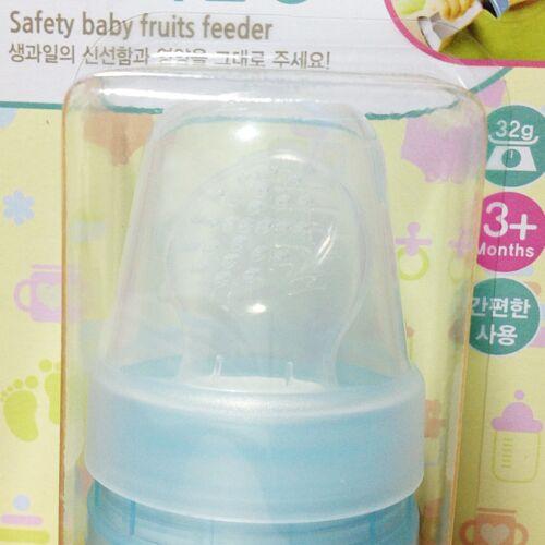 Ange Korean Silicone Baby Fruits Feeder Feeding Fresh Food Juice Safe Convenient