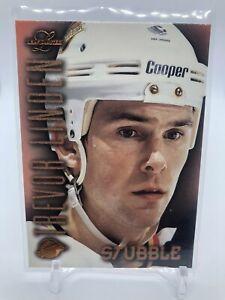 97/98 Leaf Limited Stubble Trevor Linden /1500 Canucks