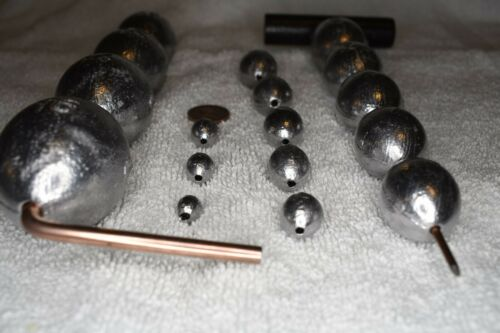 2 oz Egg 70 Sinkers Slip Fishing Lead Weights Free Shipping