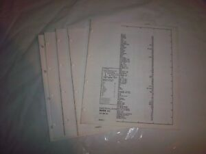 details about 1986 lincoln mark vii wiring diagram schematic service shop manual 7.3 idi wiring diagram mark 7 dimming ballast wiring diagram