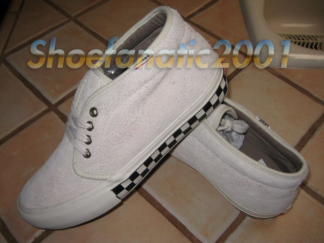 c6bbd7316b392 Vans Chukka Boot Sample Supreme Foxing Checkers White 9 Syndicate Ultracush