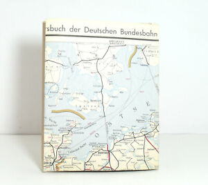 Outline Map Of Country to The Offical DB Railway Guide Nordwestdeutschland 1959