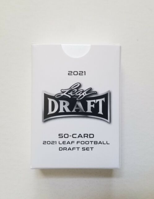 2021 NFL Leaf Draft 50 Card Set - Trevor Lawrence Zach Wilson Trey Lance Rookies