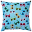IKEA SOMMAR 2019 Cushion Cover Ikea Summer Blue with Sunglasses NEW