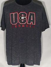 b6eef9a9a16d Georgia Bulldogs UGA Logo NCAA SEC College Team Champions Elite XL Gray  T-shirt