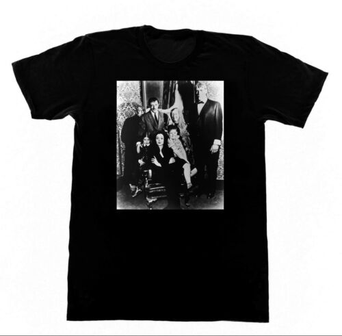 The Adams Family Shirt T10 Tshirt Horror TV Witchcraft Witch