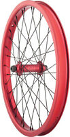 Deluxe 20 M12 Double Wall Front Bmx Wheel 3/8 Sealed Female V3 Hub Red