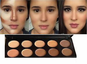 New10 Foundation Cream Contour Face Makeup Set Highlighter Concealer Palette - <span itemprop=availableAtOrFrom>london, Hertfordshire, United Kingdom</span> - Returns accepted - london, Hertfordshire, United Kingdom