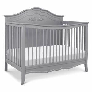 Davinci Fiona 4 In 1 Wood Convertible Crib Gray Ebay