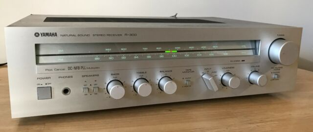 Details About Vintage Yamaha R 300 Natural Sound Stereo Receiver Very Nice Tested
