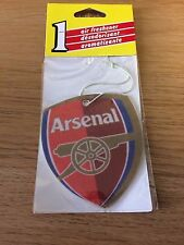 CAR AIR FRESHENER - ARSENAL FOOTBALL CLUB - SMELLS GREAT!  4 FOR 3 OFFER
