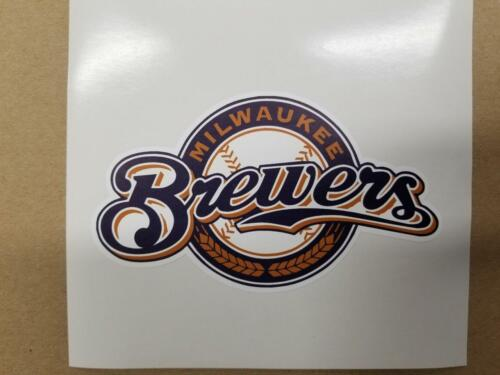 Milwaukee Brewers cornhole board or vehicle decal(s)MB4