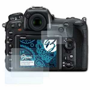 Bruni-2x-Schermfolie-voor-Nikon-D500-Screen-Protector-Displaybeveiliging