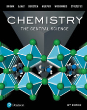 Chemistry : The Central Science by Bruce E. Bursten, H. Eugene LeMay, Theodore E. Brown, Catherine Murphy and Patrick Woodward (2017, Hardcover)