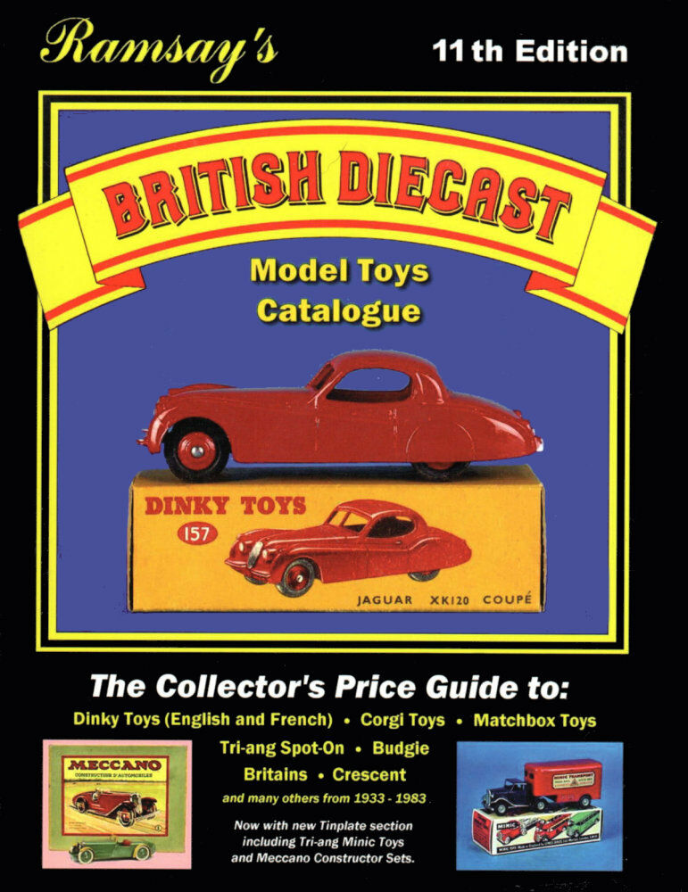 SIGNED Ramsays BRITISH DIECAST MODEL TOYS Price & Rarity Guide, 11th, 0954992504