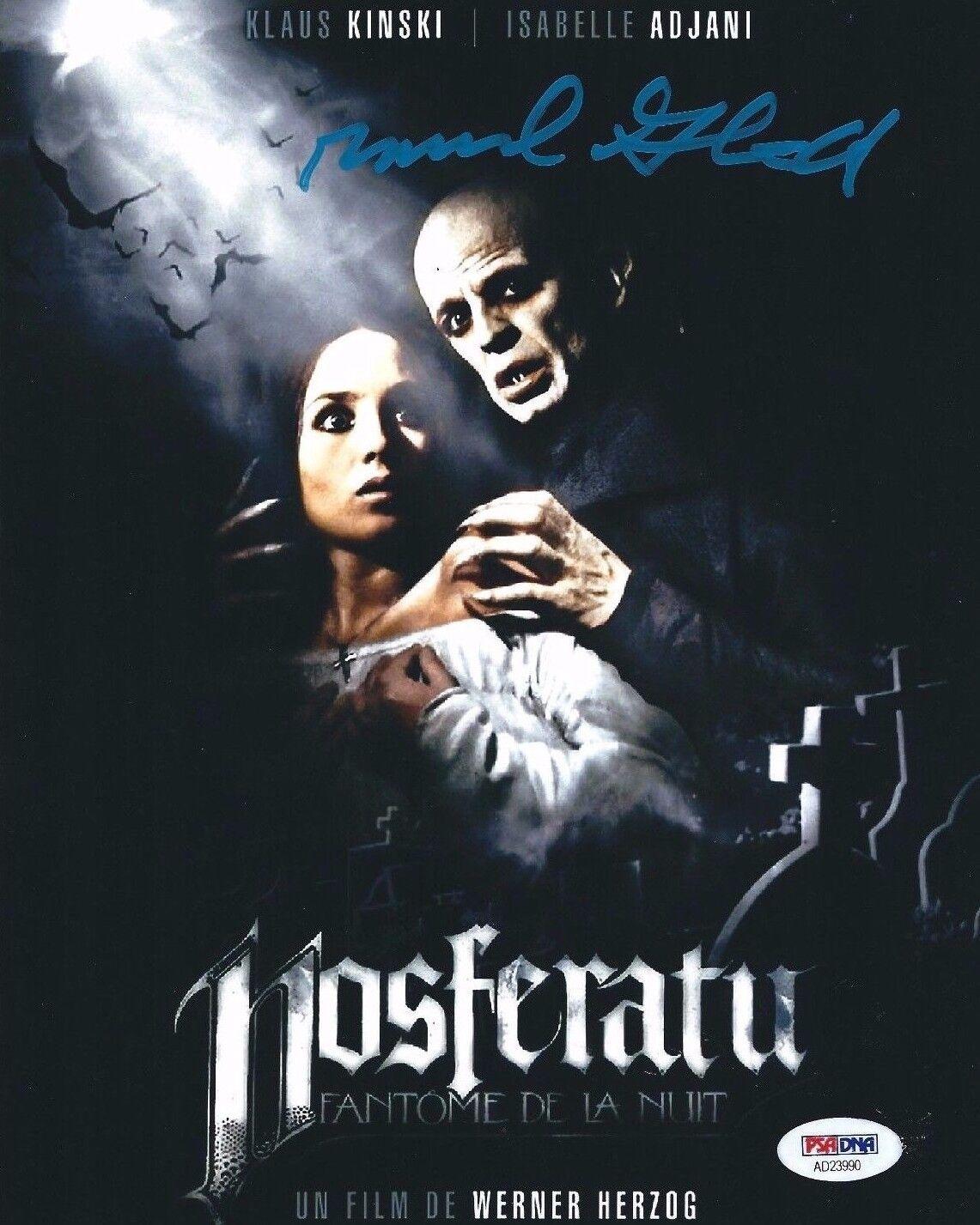 Michael Gruskoff Signed Nosferatu 8x10 Photo *The Vampyre PSA AD23990