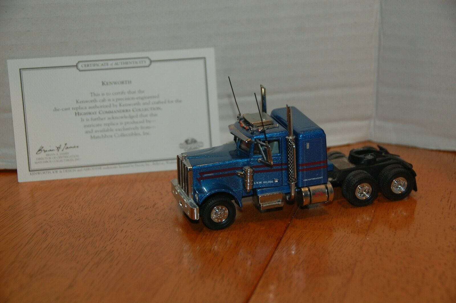MATCHBOX KS194 A-M KENWORTH W900