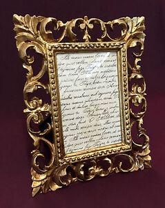 Bilderrahmen-Antik-Gold-Barockrahmen-Ornament-23x18-Fotorahmen-Shabby-Chic-CG-P