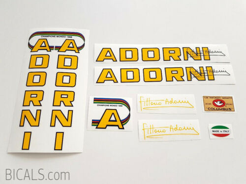 ADORNI decal set sticker complete bicycle FREE SHIPPING