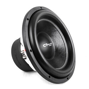 CT Sounds Meso 15 Inch Car Subwoofer 3000 Watts MAX Dual 2 Ohm Audio D2 Sub