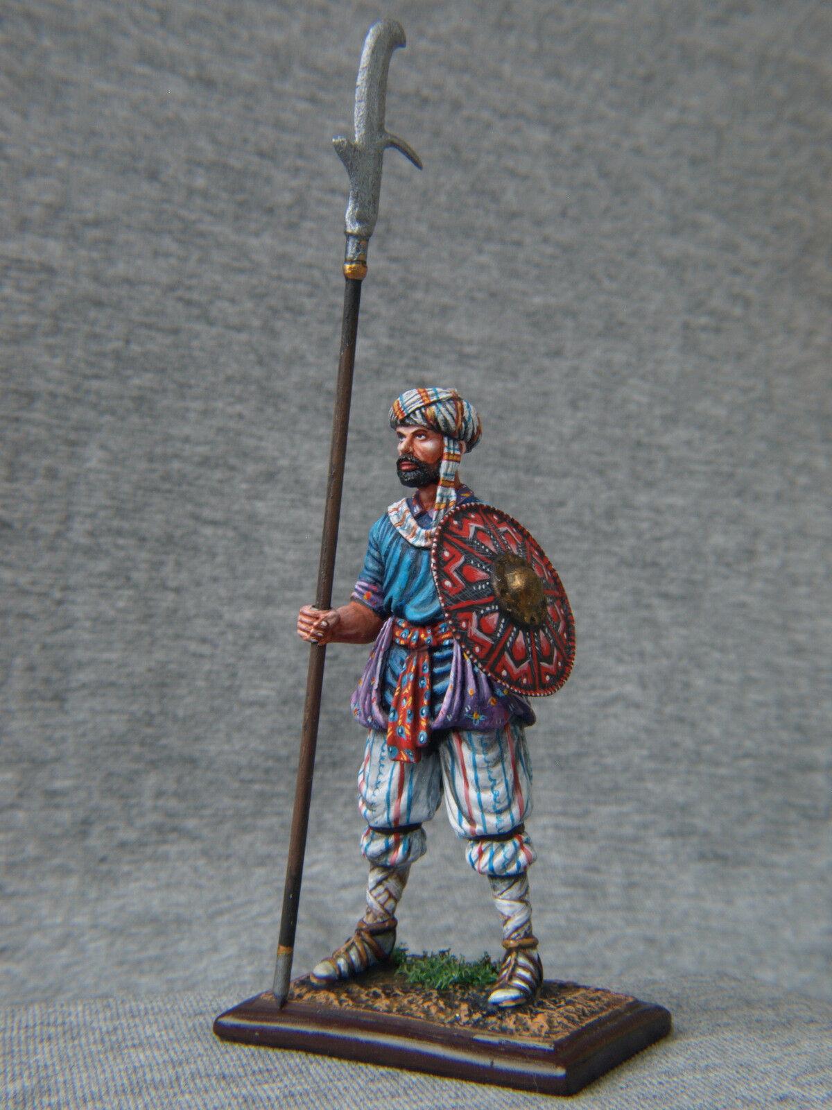 Saracen Warrior with halberd. Elite tin soldiers 54 mm. St. Petersburg