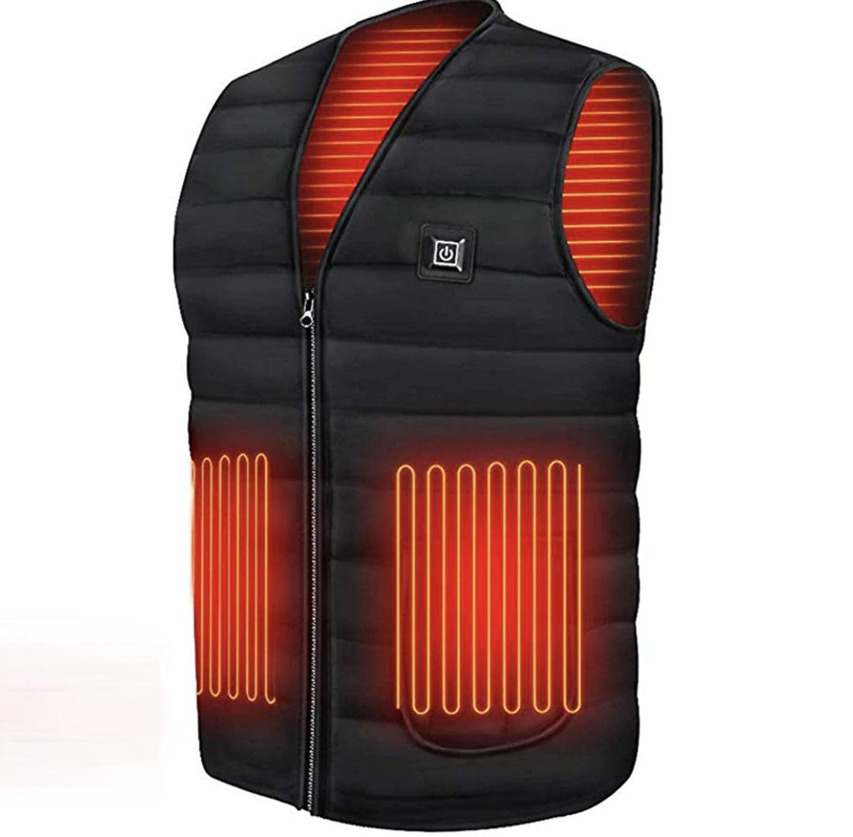 Gilet chauffant Electrique USB Homme Femme Vest...
