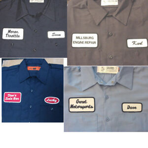 Image is loading 12-CUSTOM-UNIFORM-WORK-SHIRT-PERSONALIZED-Company-Name c4f512a350af