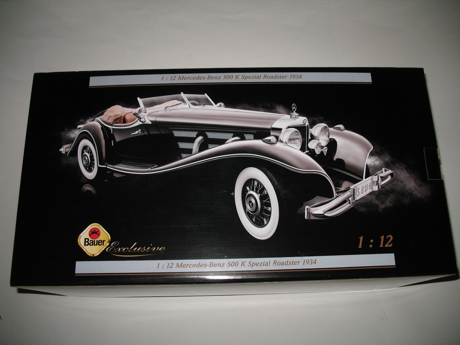 Bauer 1 12 mercedes-benz 500k especial roadster 1934 nuevo & OVP