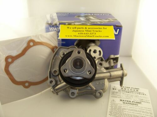 Suzuki Carry Water Pump DB52T//V//W  w//F6A Engine *****OEM*****NEW***** 3 HOLE