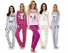 Ladies Long Sleeve Snoopy Pyjama Set Mickey Minnie Mouse PJ's Nightwear REDUCED!