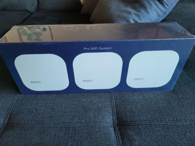 Eero PRO WiFi System (3 eeros) 2nd Generation White B010301