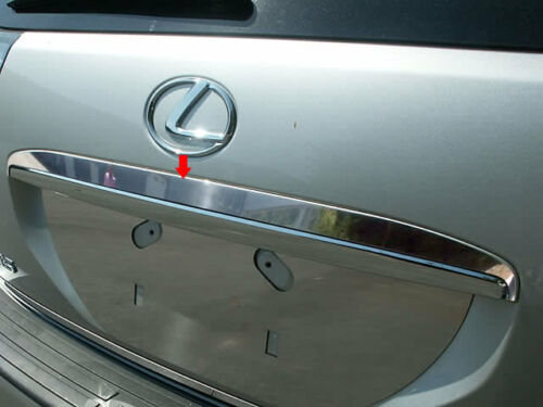 FITS LEXUS RX 2004-2009 STAINLESS STEEL CHROME REAR TRUNK MOLDING