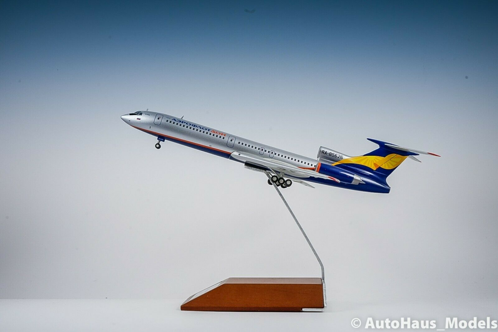1 200 JC WINGS AEROFMasse DON TU-154M Passenger Airplane Diecast Aircraft Modell