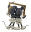 Hallmark-Valentine-Disney-Mickey-and-Minnie-Love-Made-for-Two-Figurine-New 縮圖 2