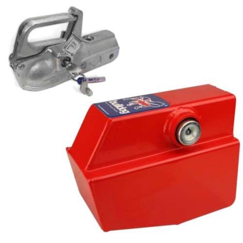 Bulldog Security Products BR30 Heavy Duty Trailer Hitchlock Hitch Lock