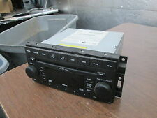 Chrysler Dodge 08 - 09 Charger CD MP3 DVD Radio Stereo Unit Console 05064923AE