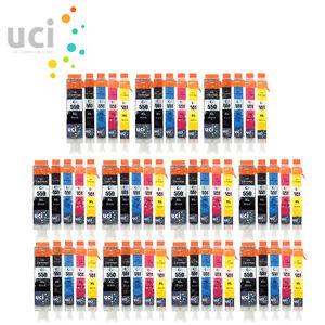 55-Xl-Cartuchos-De-Tinta-set-Para-Canon-Pixma-ix6850-mg5650-mg6650-mg7550-mx925