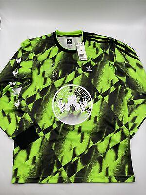 Adidas Soccer Club Jersey All Over Print Green Men's Size M-L-XL NWT | eBay