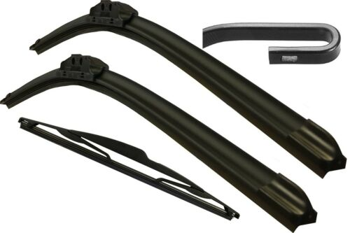 Front /& Rear Windscreen Wiper Blades FORD Ka MK1 Incl Van 1996/>2009