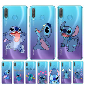 Details about For Huawei P30 Lite P20Pro P10 P9 Blue Stitch Cute Cartoon Case Cover Soft Cover