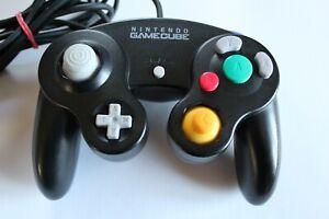 Manette noire GameCube officielle NINTENDO (PAL DOL-003) Fonctionne parfaitement