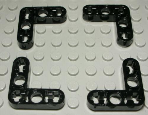 1197 # Lego Technic Flachverbinder 3x3 new Schwarz 4 Stück
